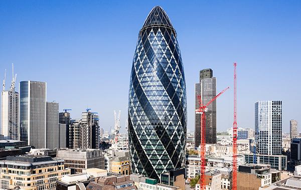 Галерия - небостъргачи - Лондон