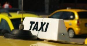 Протест на таксиметровите шофьори