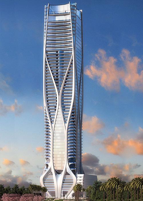 Маями, Флорида – 1000 Музея / Zaha Hadid Architects