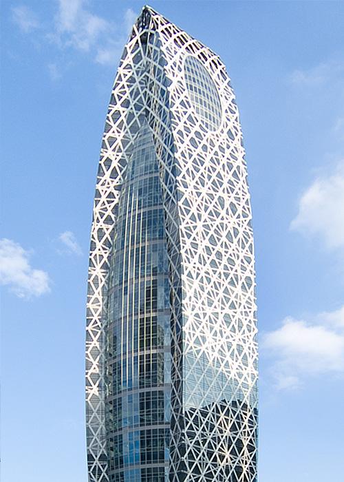 Токио – Gakuen Cocoon Tower / Tange Associates