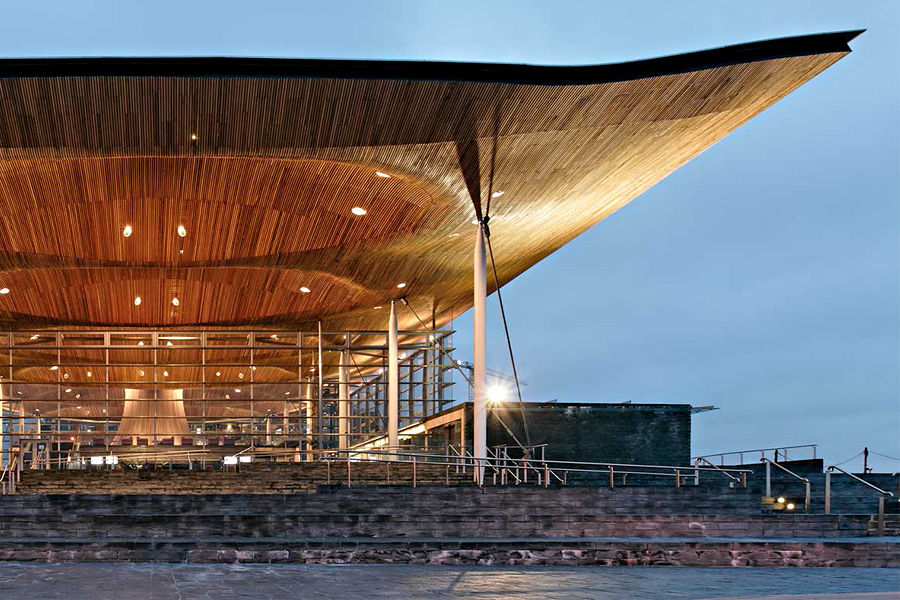 Richard Rogers - National Assembly for Wales in Cardiff