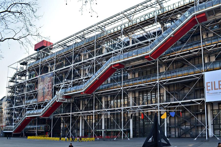 Richard Rogers - pompidou