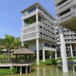 Crescent & Pioneer Hall at NTU, Toyo Ito, СИНГАПУР